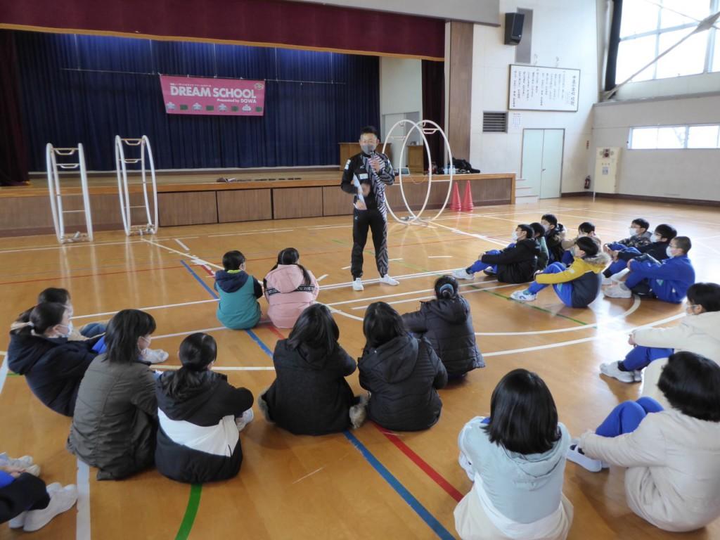 秋田ノーザンハピネッツ学校支援