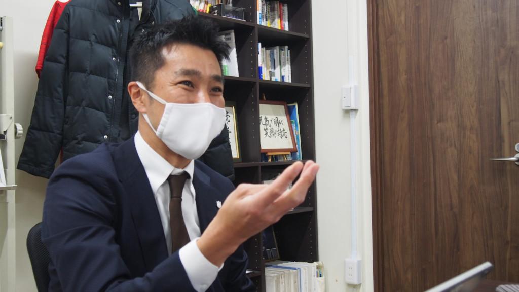 FC NossAの代表を務める杉本浩司氏
